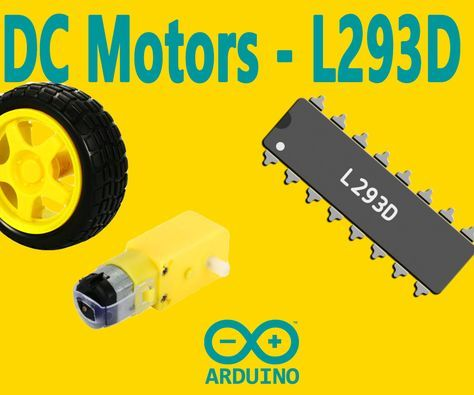 "This instructable is the written version of my ""Arduino : How To Control DC Motors with L293D Motor Driver"" YouTube video that I've uploaded recently. I strongly recommend you to check it out.My YouTube Channel"
