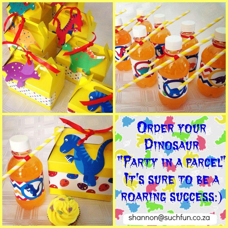 Dinosaur party Supplies by Such Fun www.suchfun.co.za