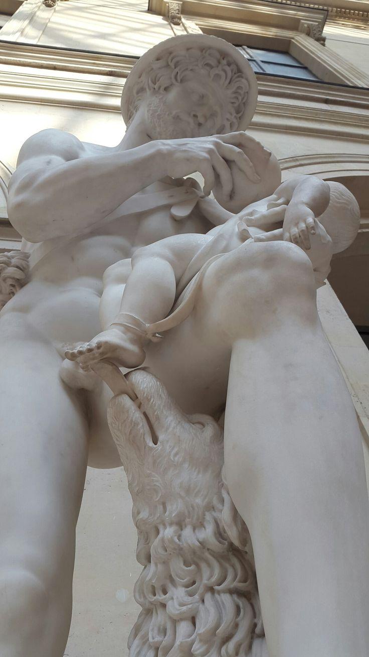 The Infant Oedipus and Phorbas (by Antoine-Denis Chaudet), Louvre Museum, Paris, France.