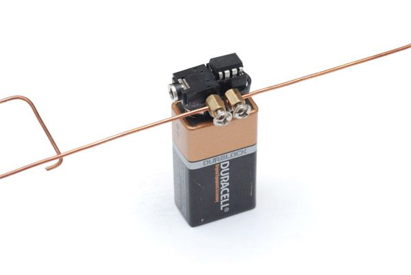 A Tiny Theremin is also a one wire motion detector