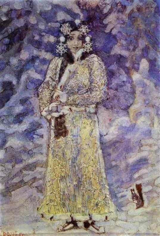 Mikhail Vrubel - The Snow Maiden, 1895, Art Museum of Ryasan, Russia