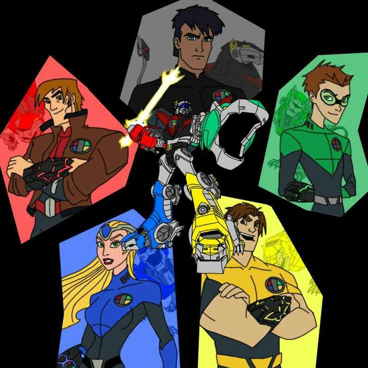Voltron Force Characters Names 79 best images ...