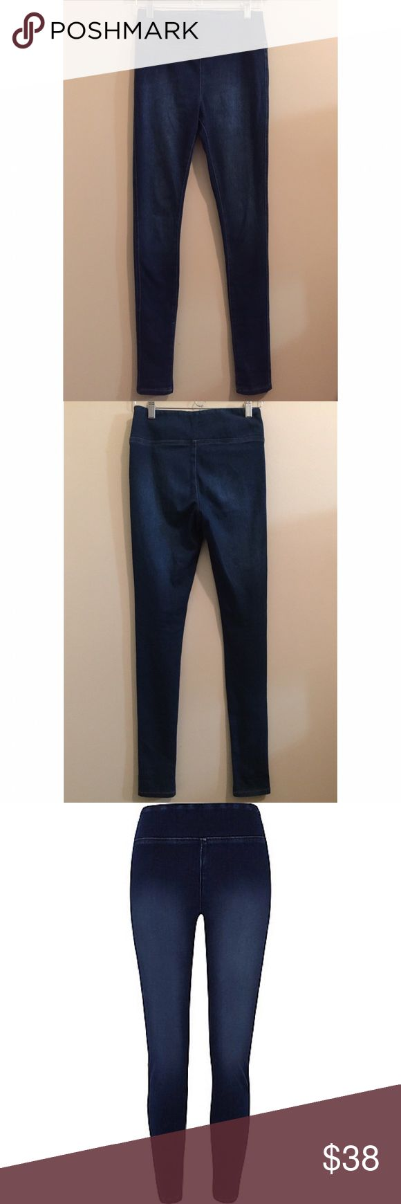 River Island Dark Wash Jegging Pants - Never worn (tag removed) - High waisted - Denim look - River Island Pants