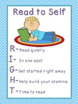 15 best images about Daily 5 Read to Self-Silent Reading on ...