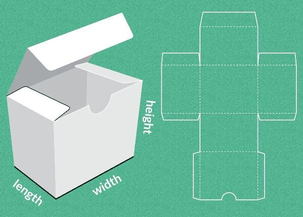 28 best images about box templates on pinterest craft for Box blueprint maker