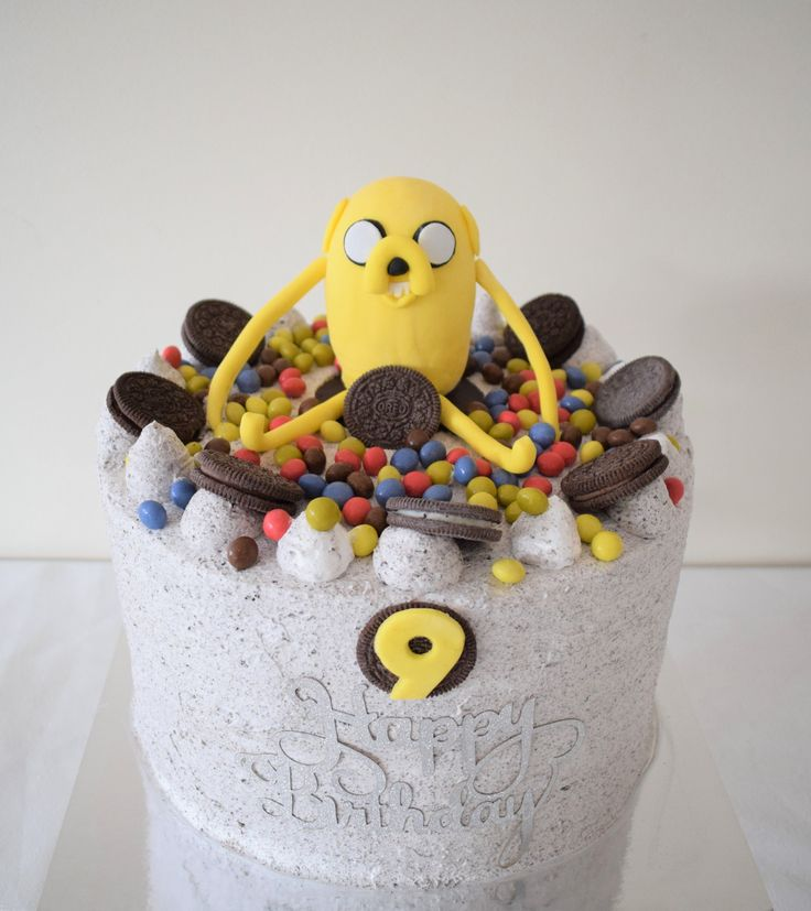 Jake the dog cake