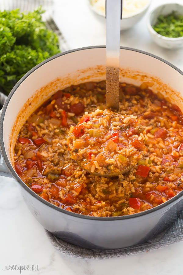 This Stuffed Pepper Soup Is A Flavorful Healthy Soup Recipe That S Loaded With Italian Sausage For E Stuffed Peppers Healthy Soup Recipes Stuffed Pepper Soup
