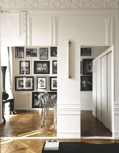 Paris apartment | Gallery Wall