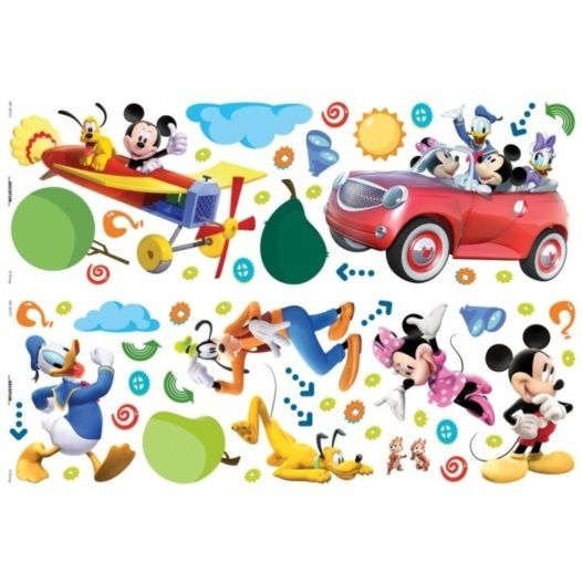 Disney - Musse Pigg Wall Stickers 56-Pack