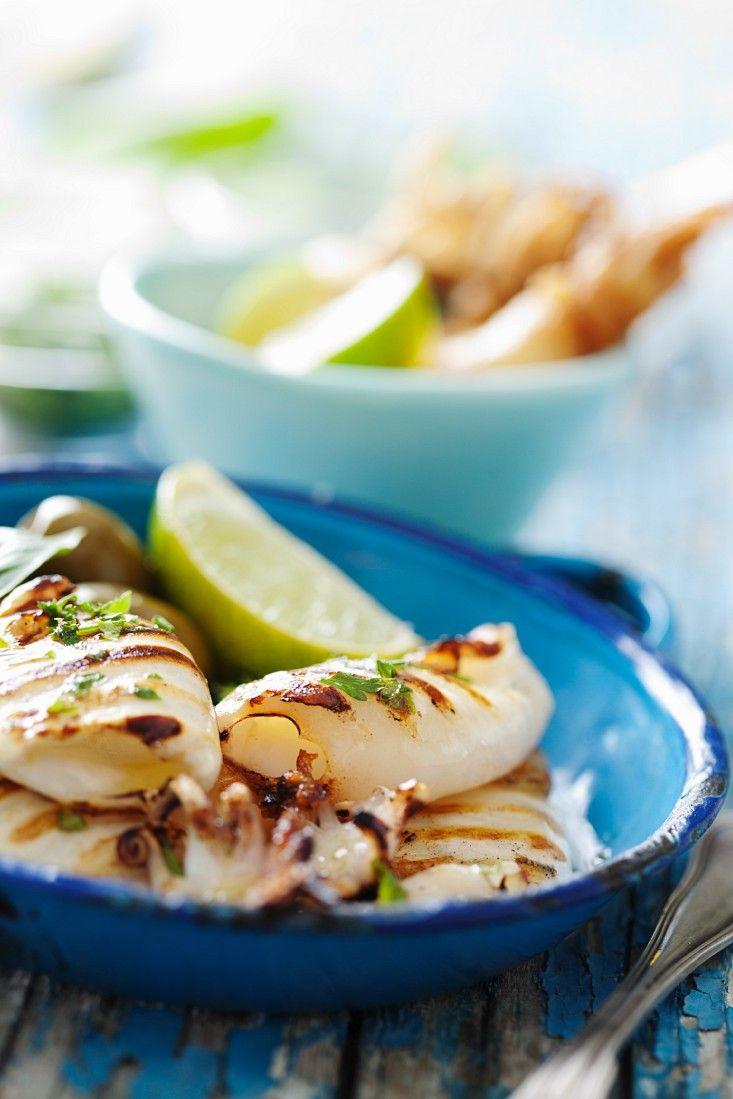 Tintenfisch vom Grill - smarter - Zeit: 10 Min. | eatsmarter.de