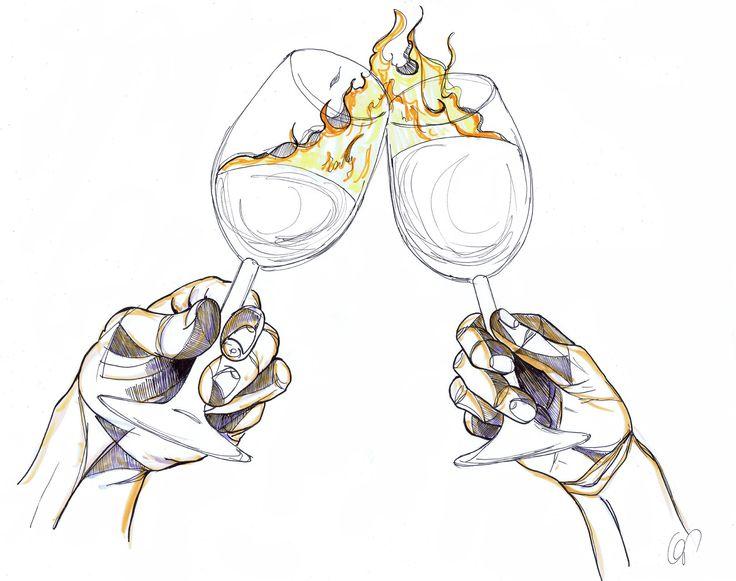 Weinkarte Feuerwehr - juls comics