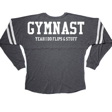 Funny Gymnast Shirts Yeah I Do Flips & Stuff | Yes, that's what I do. I get…
