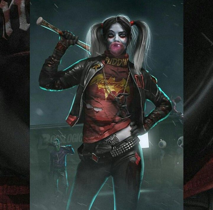 Suicide Squad X The Walking Dead – By Bosslogic