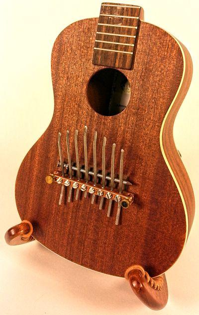 The Ukelimba - New very cool instrument collaboration by Steve Einhorn and Kala Ukelele