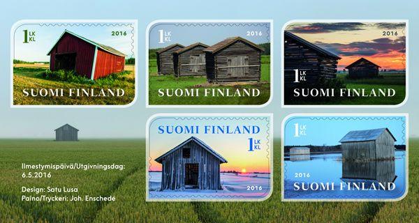 Latokuvakisan satoa toukokuun postimerkeissä - Posti Group Oyj