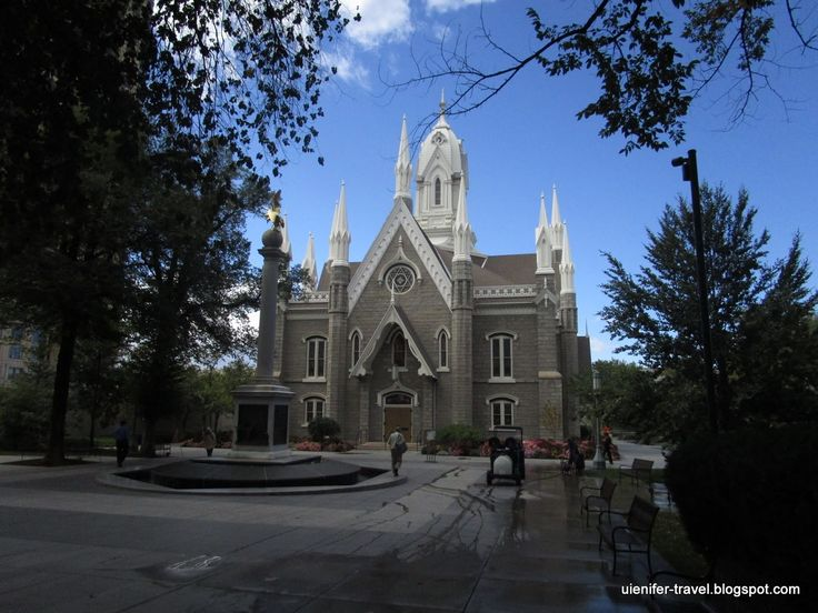 Assembly Hall, Salt Lake City, Utah (Холл Ассамблеи. Солт-Лейк-Сити. Юта)