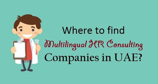 Where to find #Multilingual HR Consulting Companies in #UAE?  #HRConsulting #HumanResource #Jobs