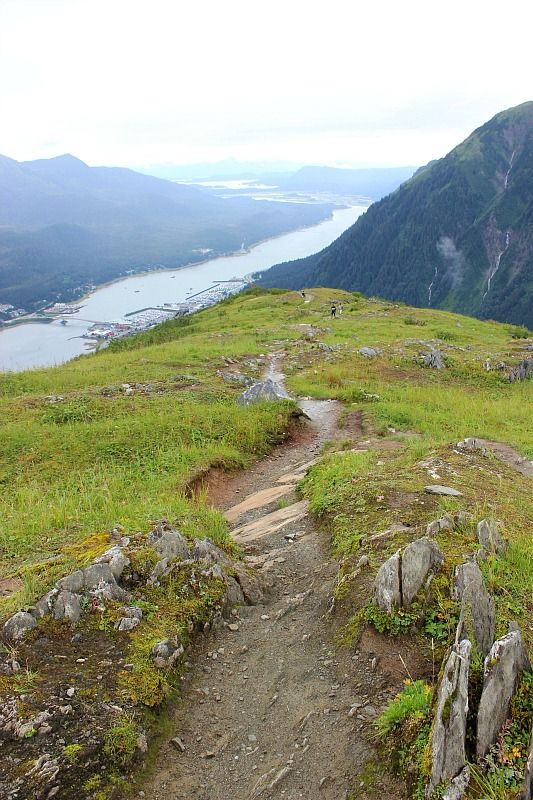 Beautiful views from Mt Roberts Juneau, in the rain via The World on my Necklace