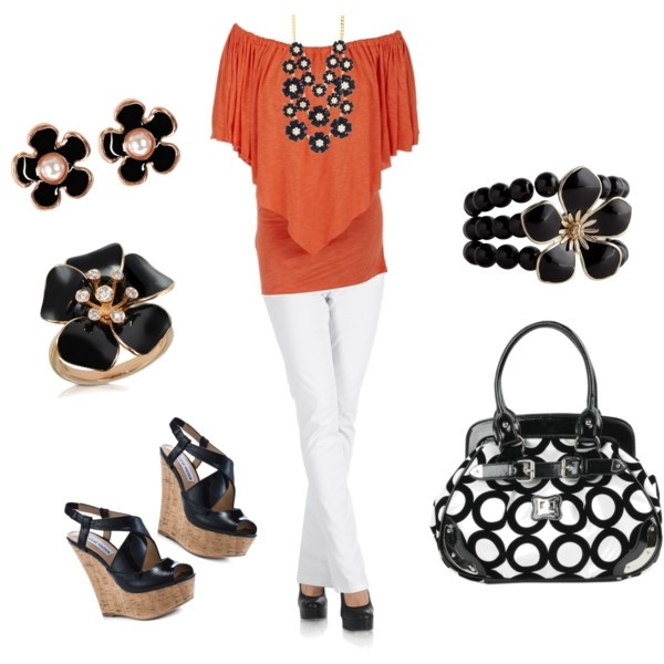 I love all the fun accessories!  Created by shauna-rogers.polyvore.com