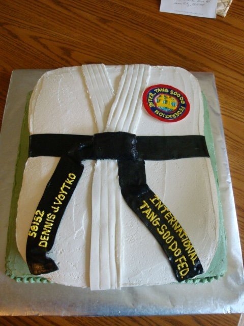 Tang Soo Do Promotion Cake Cakes I Ve Made Pinterest