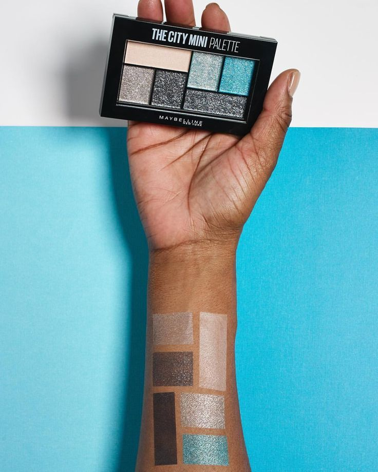 Maybelline New York  «Sparkle in shimmering silvers, mints and teals with the @ultabeauty exclusive #cityminis palette in…»