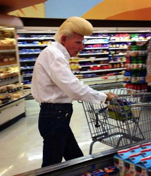 Old Johnny Bravo ---- only at Walmart.