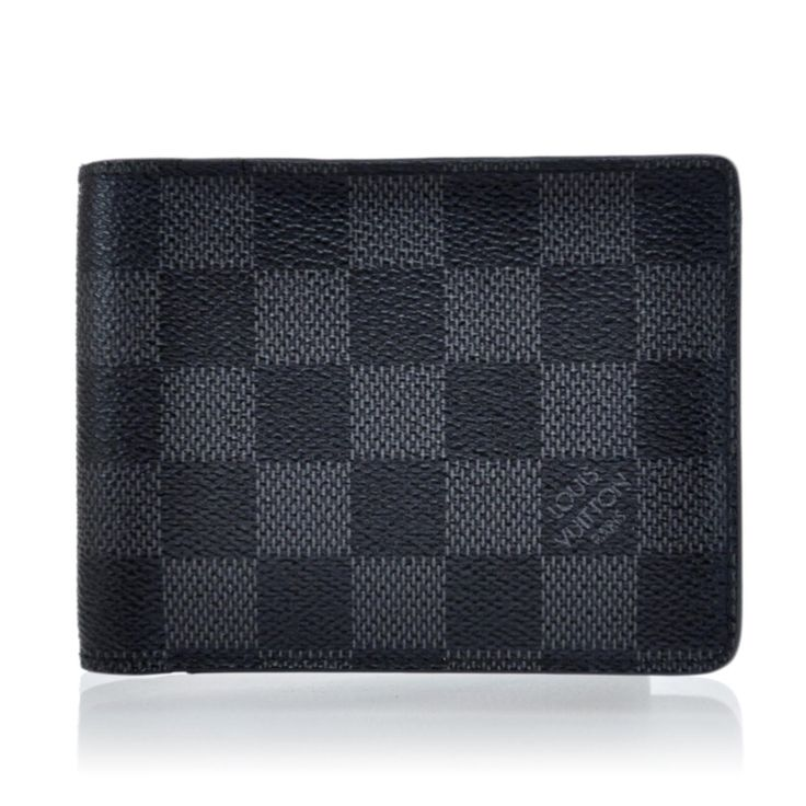 Louis Vuitton Men's Wallet | LOUIS VUITTON Men s Damier Graphite Multiple Wallet