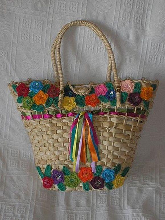 Custom Straw Tote Bags