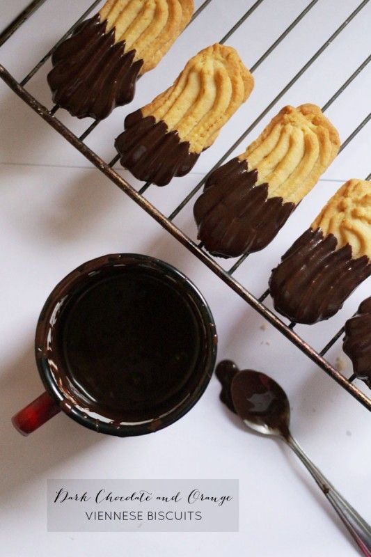 How to Make Chocolate Viennese Biscuits
