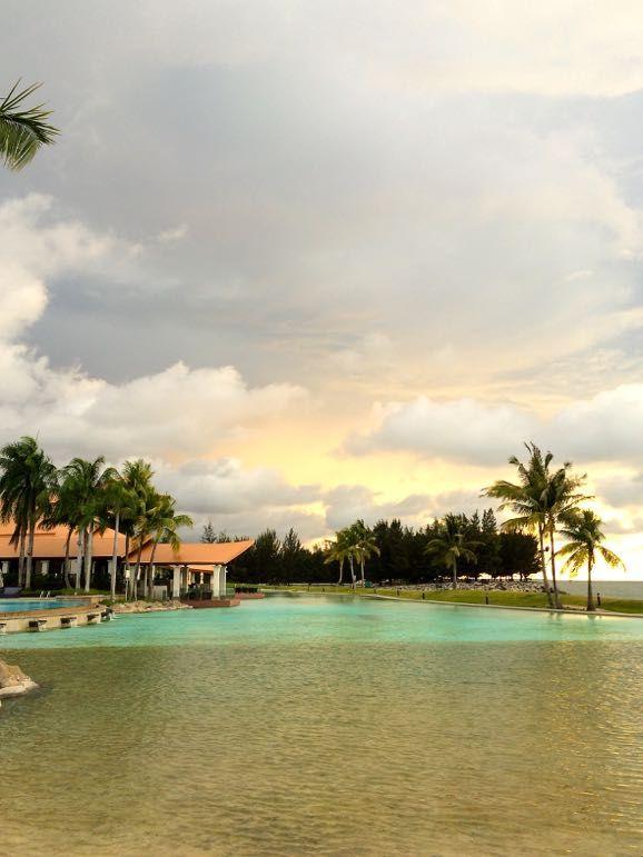 Poolside at The Empire Hotel & Country Club, Bandar Seri Begawan, Brunei
