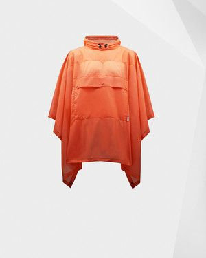 The Original Clear Poncho in Sunset