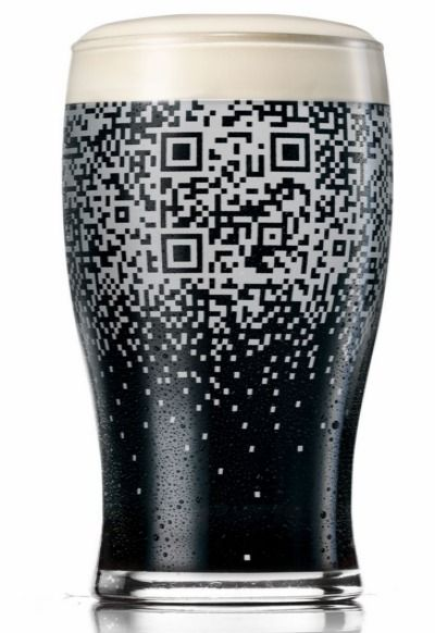 Fill This Glass With Guinness, Get a QR Code: Guinness, Qr Codes, Marketing Ideas, Pints Glasses, Beer Design Glasses, Socialmedia, Great Ideas, Guiness Qrcode, Drinks