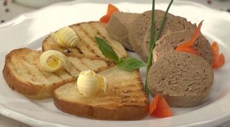 (+1) Ливерная колбаса курица, печень, лук, морковь. Домашняя колбаса.