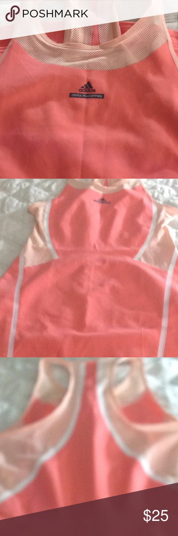 Stella McCartney Adidas Barricade Dress Coral tennis dress with out the shorts Adidas by Stella McCartney Dresses