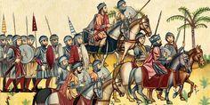 MEDIEVAL SPAIN - Reino visigodo contra los musulmanes