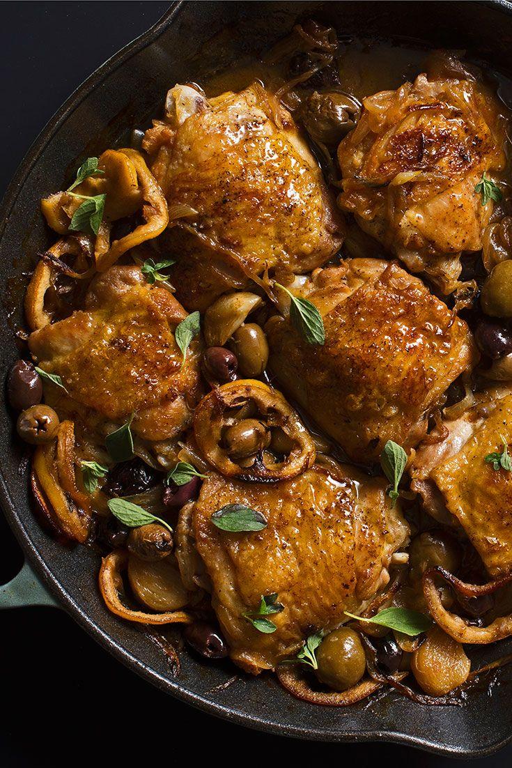 The Best Garlicky, Lemony Braised Chicken Thighs