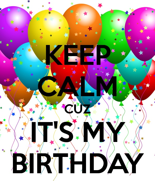 I just pinned this pic from my phone coz its my birthday today! ;)xx