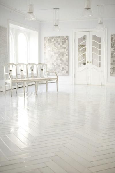 98 best images about parquet flooring on pinterest for White tile flooring ideas