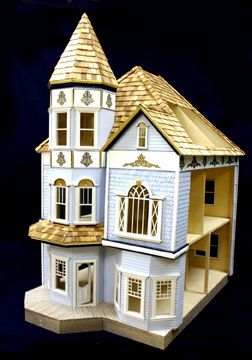 58 best images about d7 painted lady dollhouses on pinterest for Young house love dollhouse