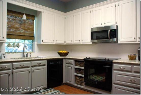 White paint white paint white paint kitchen inspiration for Alabaster white kitchen cabinets