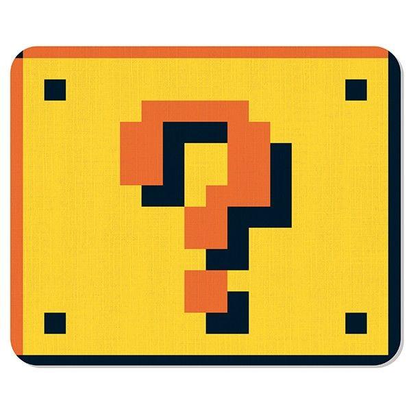 Mousepad Bloco Mario