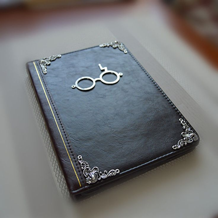 Harry Potter Lightning Glasses Leather ipad mini 1/2/3 Case Cover vintage book  #handmade