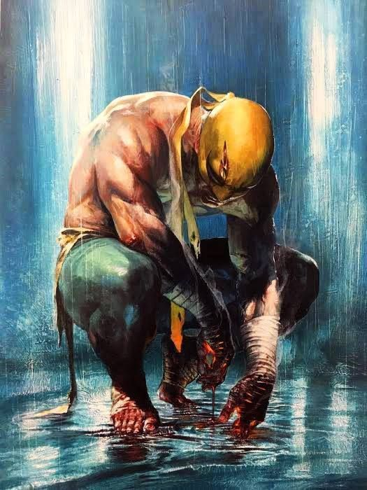 Iron Fist by Gabriele Dell'Otto