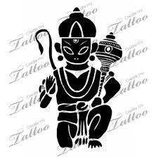 Image result for hanuman tattoo designs