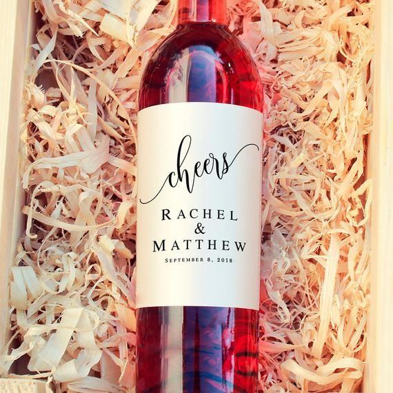 Cheers Wine Label Wedding Template Printable Wedding Wine Etsy In 2021 Diy Wine Bottle Labels Wine Label Printable Wedding Wine Labels
