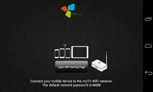 Application for myTV WiFi hardwareTurn your Android smartphone or tablet into a mobile Freeview, TNT, and DVB-T digital TV receiver! Use this app with the Hauppauge myTV Wi-Fi Mobile TV device and enjoy watching live digital TV wirelessly at home or outdoors (great for watching digital TV in the garden, camping, on the beach, or anywhere outdoors with a good digital TV coverage)Features: • Watch live digital TV on your Android device  • No dataplan usage, saving you money at home...