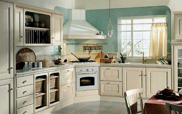 Oltre 25 fantastiche idee su cucina ad angolo su pinterest - Mobiletti ad angolo ...