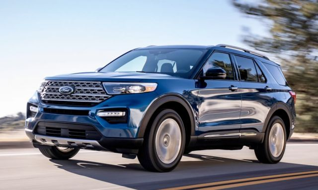 2021 Ford Explorer Redesign Hybrid St Version Ford Explorer