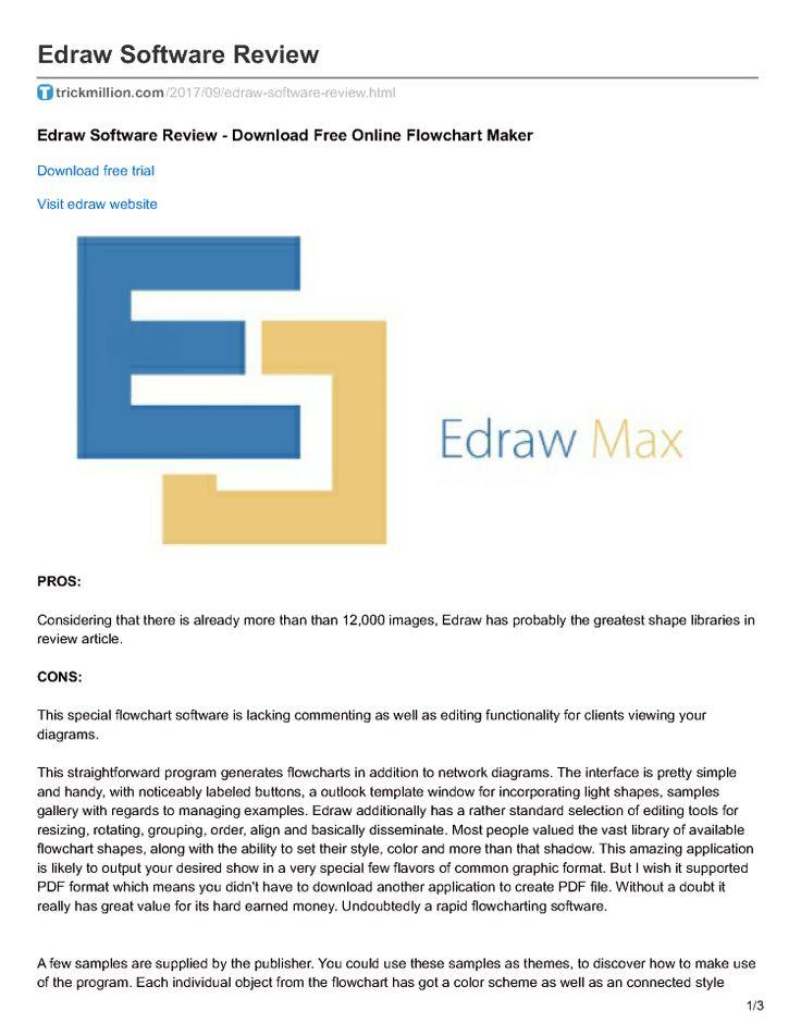 Trickmillion.Com - Edraw Software Review |authorSTREAM
