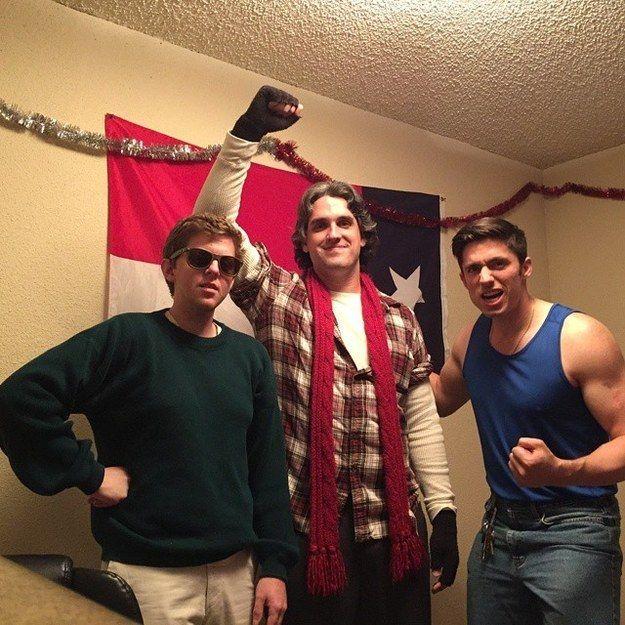 the breakfast club dudes group halloween costumesgroup - Halloween Costumes With Facial Hair